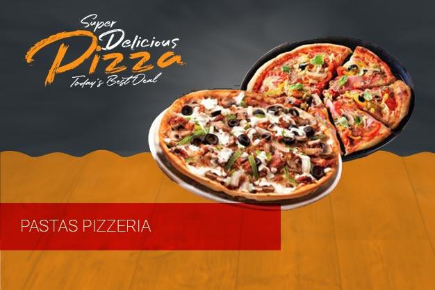 πίτσες μακαρονάδες κρέπες Pasta's Pizzeria